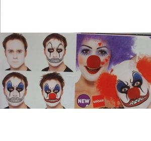 Halloween Fancy Dress Clown Make Up