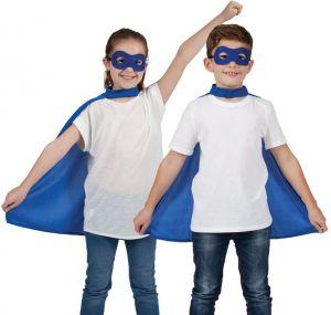 Childrens Superhero Cape Kit - Blue