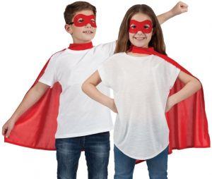 Childrens Superhero Cape Kit - Red