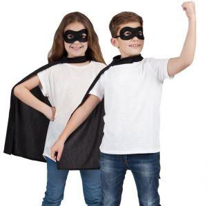 Childrens Superhero Cape Kit - Black