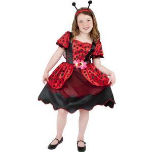Childrens Fancy Dress Lady Bug Ladybird Costume