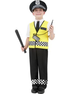Childrens Fancy Dress - Police Boy Costume
