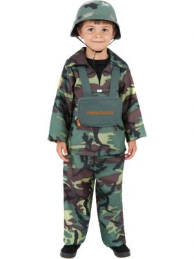 Childrens Army Soldier Costume