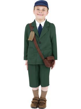 Childrens World War 2 Evacuee Boy Costume