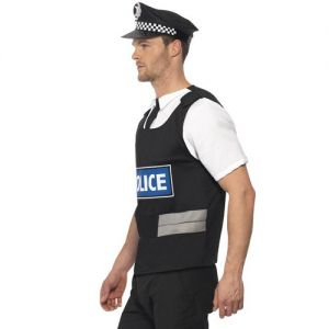 Mens Policeman Fancy Dress Instant Kit