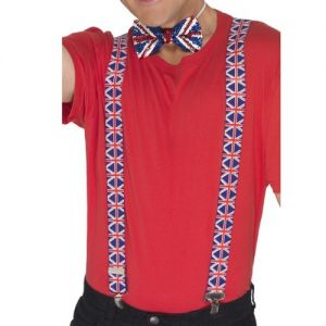 Union Jack Fancy Dress Braces
