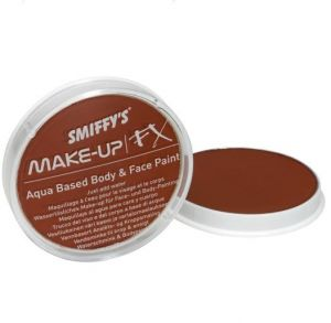 Smiffys Fancy Dress Face Paint  Make Up - Rusty Brown