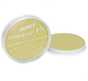 Smiffys Fancy Dress Make Up Face Paint  - Metallic Gold