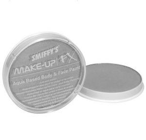 Smiffys Make Up Fancy Dress Face Paint  - Metallic Silver