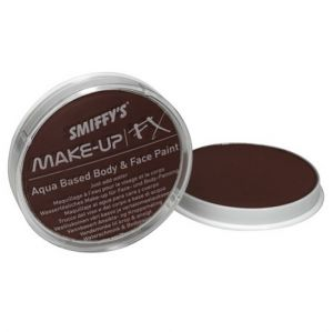 Smiffys Make Up Fancy Dress Face Paint - Dark Brown