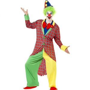 Circus Clown Fancy Dress Costume - M, L or XL
