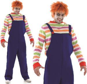 Mens Evil Doll Halloween Costume