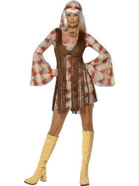 60s Fancy Dress Hippy costume