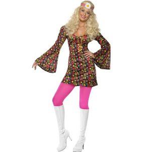 60s Fancy Dress - Hippy CND Dress