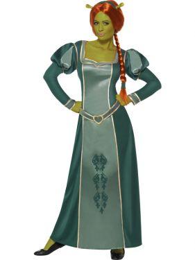 Shrek Princess Fiona Fancy Dress Costume & Wig