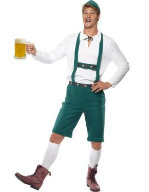Lederhosen Fancy Dress Costume