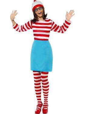 Wheres Wally Wenda Fancy Dress Costume