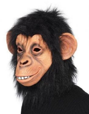 Fancy Dress Monkey Chimp Mask