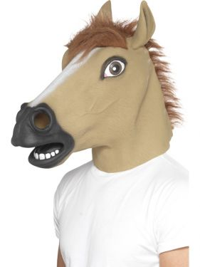 Horse Full Head Mask
