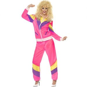 1980s Ladies Height of Fashion Shell Suit Costume