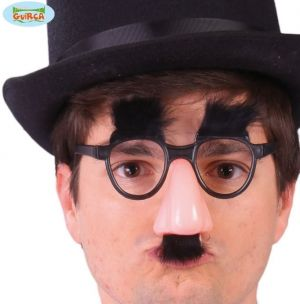 Groucho Glasses Nose and Eyebrows