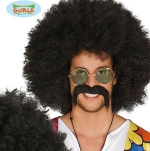 Large Black Afro Wig