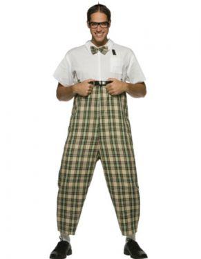 "80s Nerd Geek Costume - 40-42"" Chest"