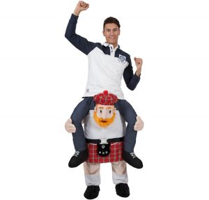 Deluxe Carry Me Scotsman Fancy Dress Costume