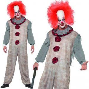 Mens Vintage Clown Costume