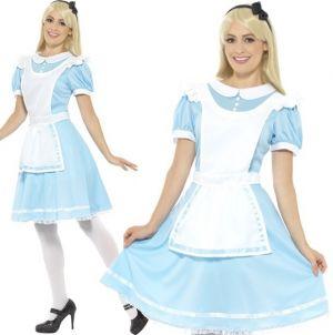 Ladies Wonderland Princess Alice Costume
