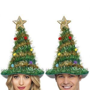Christmas Tree Hat - Green/Multi