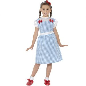 Girls Country Girl Dorothy Fancy Dress Costume