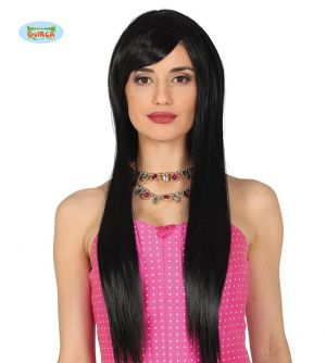High Quality Long Wig - Black