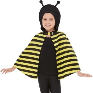 Childs Bumblebee Costume Cape
