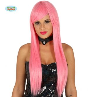 High Quality Long Wig - Pink