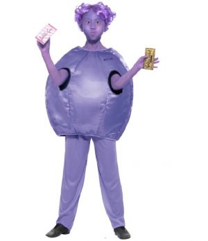 Childrens Roald Dahl Violet Beauregarde Costume