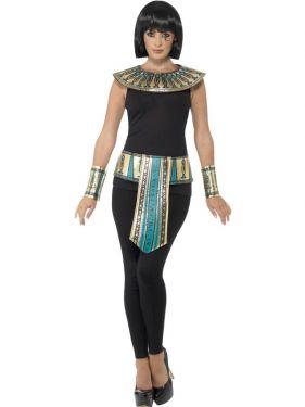 Ladies Egyptian Cleopatra Accessory Set