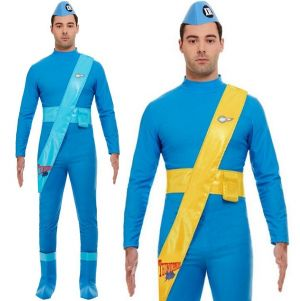 Mens Licensed 2 in 1 Thunderbirds costume