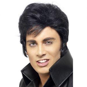 Mens Licensed Elvis Wig