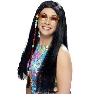 Ladies 60s Hippy Party Wig