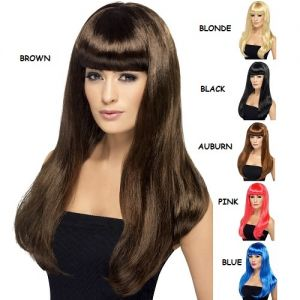 Ladies Babelicious Wig - in 6 Colours