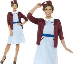 Ladies Vintage Nurse 40s Costume