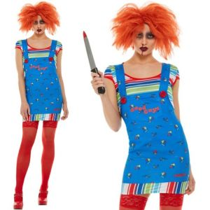 Officially Licensed Chucky Lady Halloween Costume