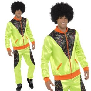 Mens Green Shell Suit