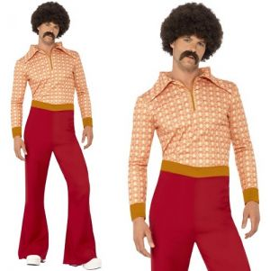 Mens Authentic 70s Guy Costume
