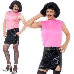 80s Licensed Queen Freddie Mercury Breakfree Tarty Housewife