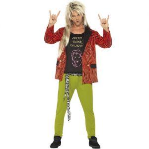 Mens 80s Rockstar Rod Costume