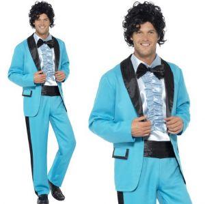 Mens 80s Prom King Singer Costume