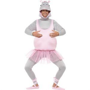 Ballerina Hippo Fancy Dress Costume