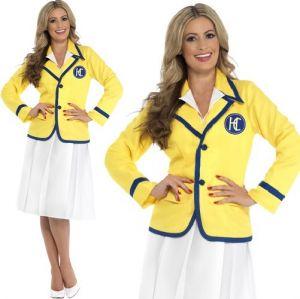 Ladies Holiday Rep Yellow Coat Costume